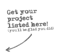 Get your project listed here!