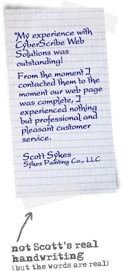 Quote from Sykes Painting